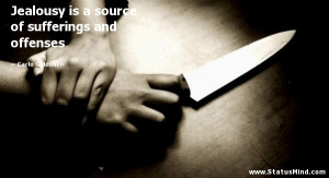 ... of sufferings and offenses - Carlo Goldoni Quotes - StatusMind.com