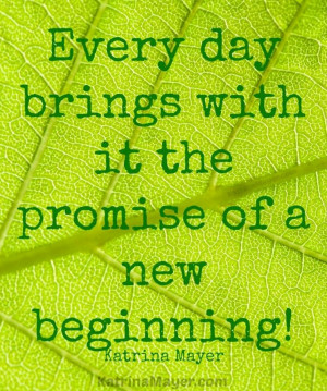 New Beginnings Quotes