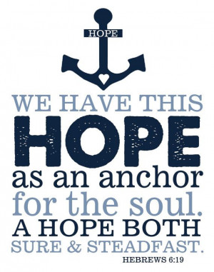 Hope anchors the soul bible quotes quotesgram for Hope anchors the soul tattoo