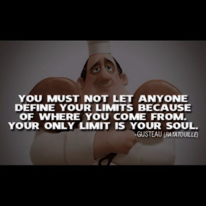 Ratatouille- movie quote