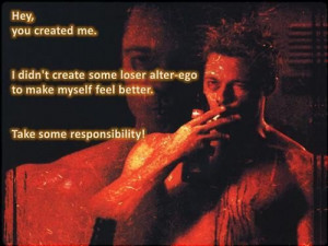 Fight club quotes and sayings movie about himself inspiring
