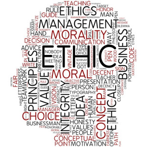 ... ethics. The documented policy on ethics in any organization is
