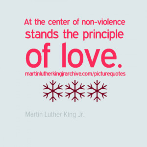 Martin Luther King Non-Violence Quotes