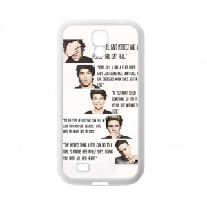 One-Direction-Band-Quotes-Niall-Zayn-Liam-Harry-Louis-TPU-Cover-Case ...