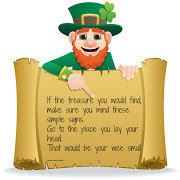 All you need to follow the Leprechaun's clues is a smart phone or an ...
