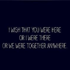 Exactly what long distances relationships are like!! BUT it's so worth ...