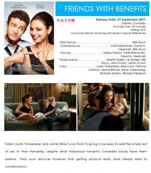 friends with benefits rules kissing ,