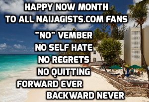 Nov 1st, 2014 – Happy New Month! Motivational Quotes For November ...
