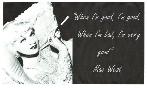 Mae West quote Image