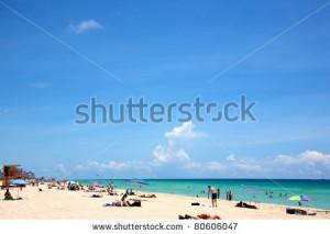 Landscape South Beach Miami