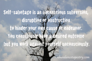 Trace 21 Self-Sabotage Behaviors to 5 Life Patterns