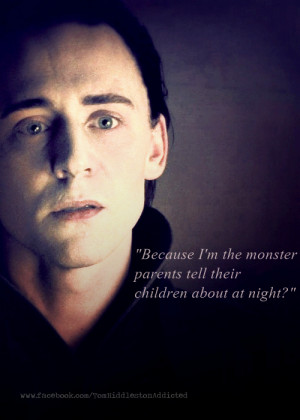 Loki Quotes…www.facebook.com/TomHiddlestonAddicted