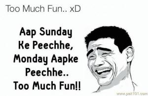 Sunday And Monday Fun