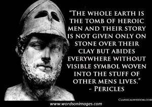 Pericles quotes
