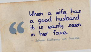 Topics: Good husband Picture Quotes , Marriage Picture Quotes