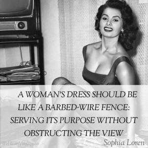 Quotes: Sophia Loren on Fashion
