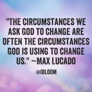 ... change us.