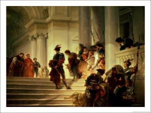 Cesare Borgia Leaving the Vatican