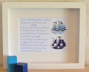 Baby Boys Christening Poems Sailing Boats