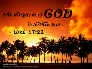 the kingdom of god is within you luke 17 22