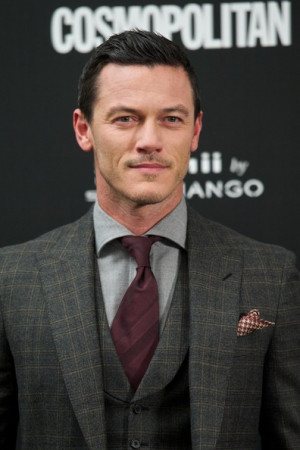 Actor Luke Evans attends the Cosmopolitan Fun Fearless Awards 2014 at ...