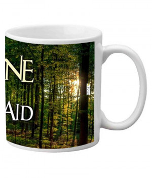 Sanshi Creations Famous Quotes Coffee Mug