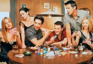 Poker faces: Friends turned sarcasm into the default mode of ...