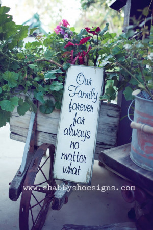 Our family, no matter what!