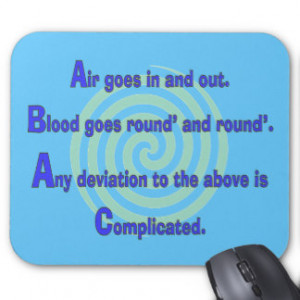 Funny Nurse or Respiratory Therapy Gifts Mousepad