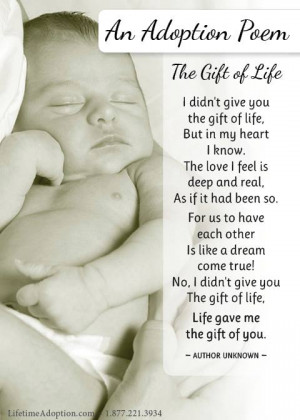 The Gift of Life: An Adoption Poem