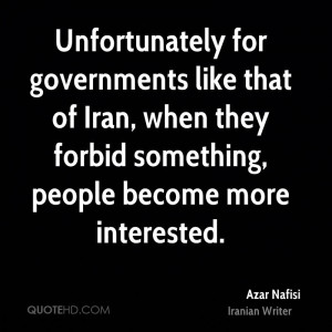 Azar Nafisi Quotes