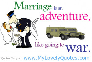 marriage is an adventure funny marriage quotes about husbands