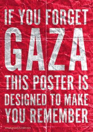 Remember Gaza!