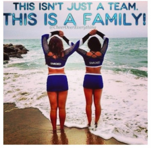 not just cheerleaders but sisters...Great photo for Kay and her best ...