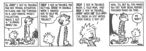 Or I could grab the collection of Calvin and Hobbes and make this easy ...