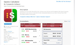 new free staffing app for the iPad and iPhone promises to make the ...