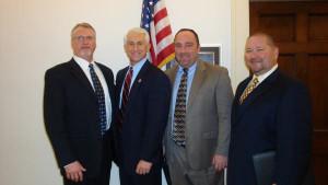 Randy Breske, Congressman David G. Reichert R – WA, Jim Frank and ...