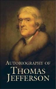 review of the Autobiography of Thomas Jefferson (1821 original ...
