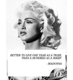 Madonna Quotes The Same Message From My Mentor