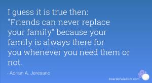 ... family
