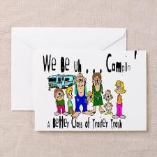 Trailer Trash Greeting Cards (6) for