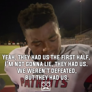 ... Inspiring Quotes This High School Athlete Can Teach NFL Players