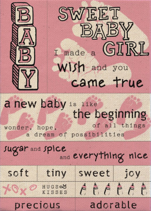 ... the baby girl scrapbook stickers quotes and for scrapbooking Pictures
