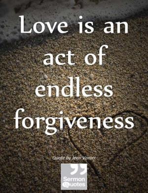Love = Forgiveness