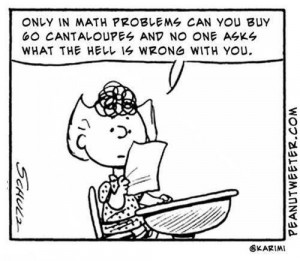 charlie brown, cute, funny, math, true story