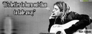 Kurt Cobain Quotes Facebook Cover Kurt cobain qu