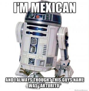 R2D2 Star Wars Mexican-W630