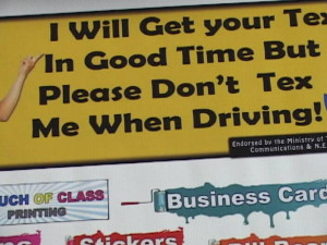 Texting And Driving Sayings Driving quotes