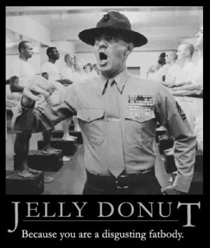 FULL METAL JACKET jelly donut