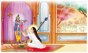 Mirabai's Love For Shri Krishna